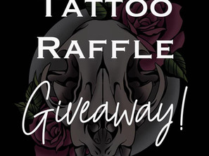 Tattoo Raffle GIVEAWAY