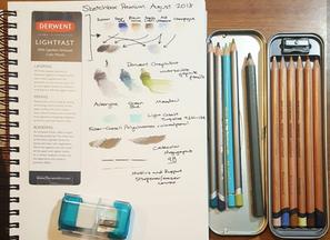 August 2018 Premium Sketchbox