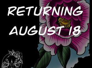 Return to Bloomington 8/13/20