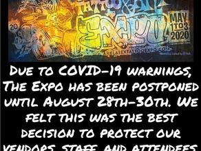 ArkLaTex Tattoo and Art Expo Postponed