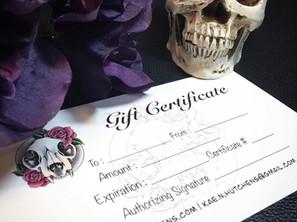 Gift Certificate Specials!