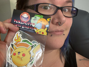 Pokepuff Kanto Starters Sticker Pack!