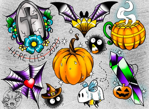 Halloween Flash Sheet!