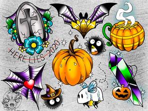 Halloween Flash Sheet!