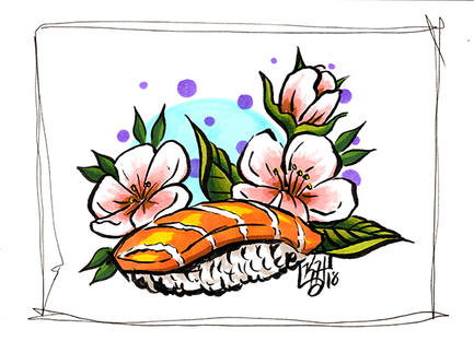 sushi and cherry blossoms etsy.jpg