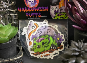 Halloween Puff Sticker Packs Are HERE!
