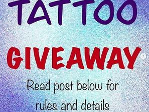 FREE Tattoo Giveaway!