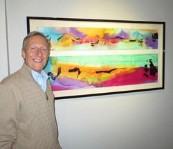 Robert Schoenfeld With Framed %22Gold Cr