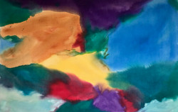 Sounds Of Color #2  42%22x60%22   $2,800