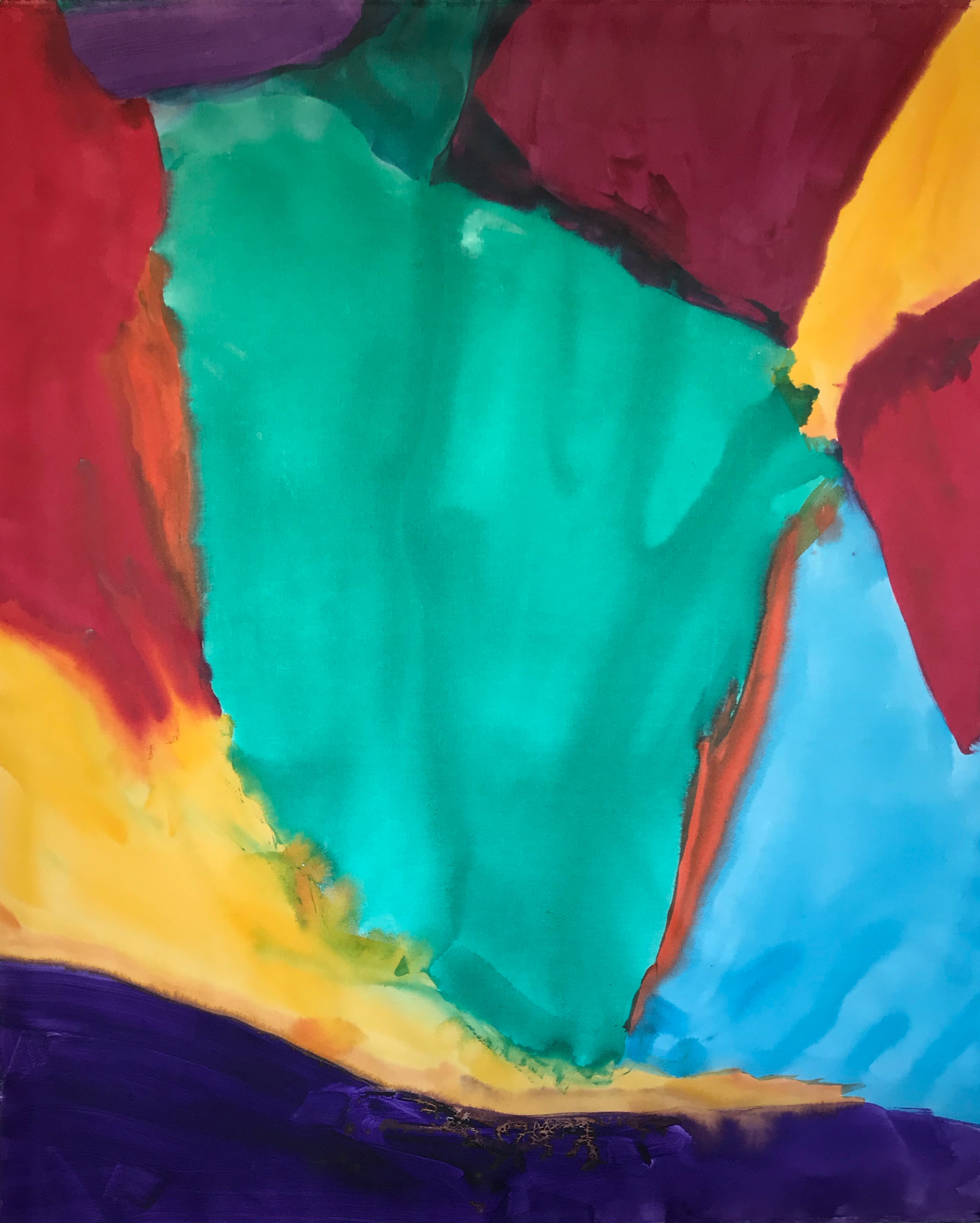 Sound Of Color #73 48%22 x 60%22 Robert