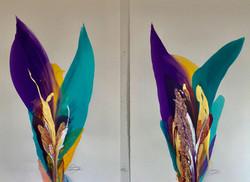 Rio De Colores' - Diptich #3-19