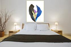 Schoenfeld, Blue_Gold_Black Rio De Colores' #3 50_x 60_ $2,800.jpeg FR