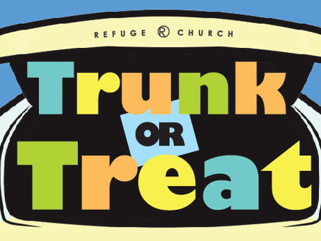 Trunk or Treat // October 31