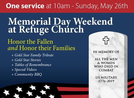 One Service Sunday // May 26