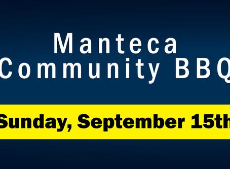 Manteca Community BBQ // September 15