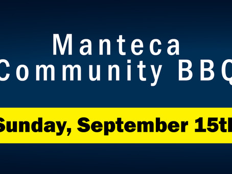 Manteca Community BBQ // September 15