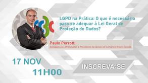Webinar | LGPD na Prática: O que é necessário para se adequar à Lei Geral de Proteção de Dados?