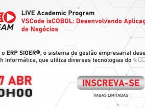 LIVE Academic Program - VSCode isCOBOL: Desenvolvendo Aplicações de Negócios