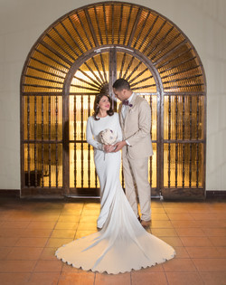 Bride and Groom, @katieskreationsevents,