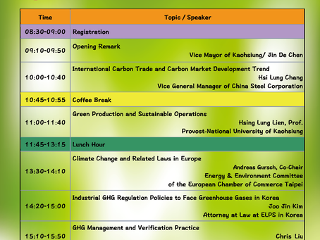 Post-Paris: International Conference of Climate Change Management for Corporations