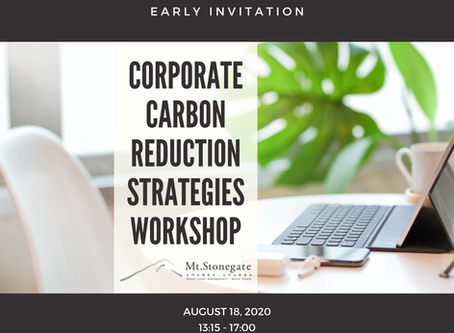 Carbon Reduction 2020 Workshop