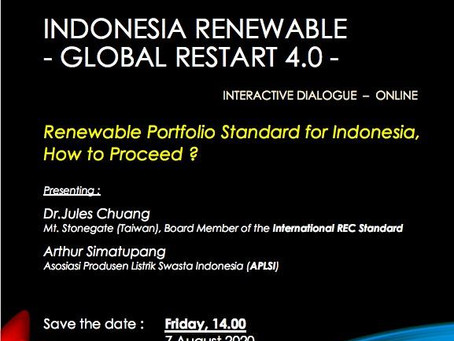 Interactive Dialogue Hosted by Indonesia Renewable Energy Society (METI)