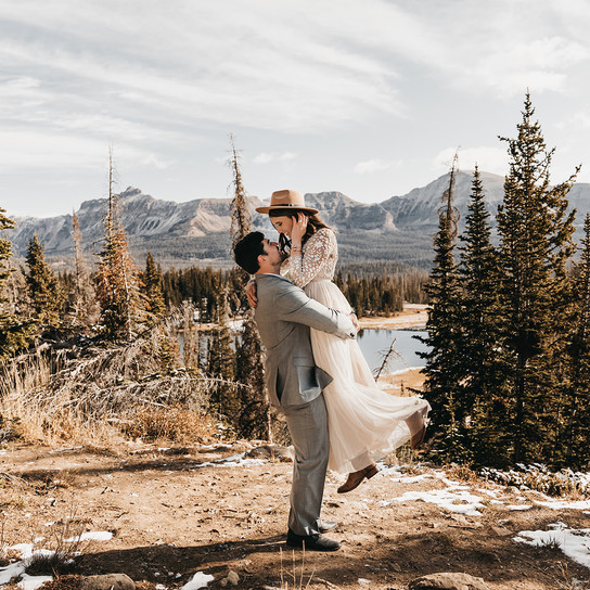 Uinta Mountains, Mirror Lake UT - Vow Exchange | Marley + Gabrial
