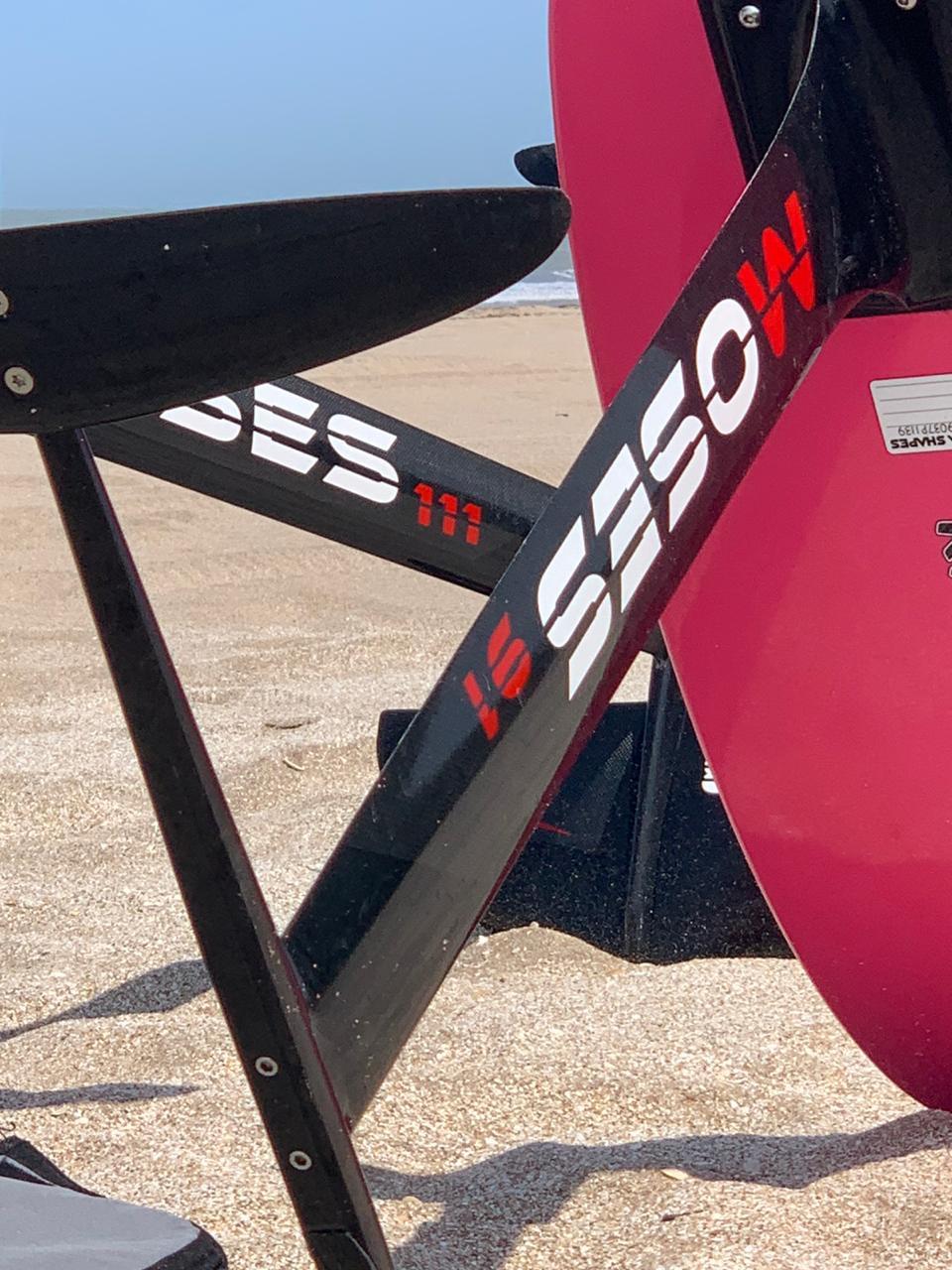 Moses foil board kiteboard