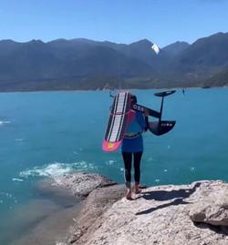 Kite board pink