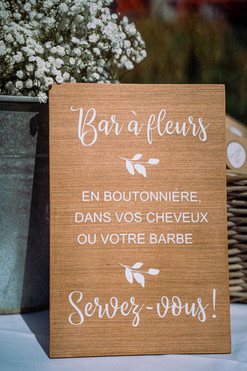 """Sticker """"Bar à Fleurs"""""""