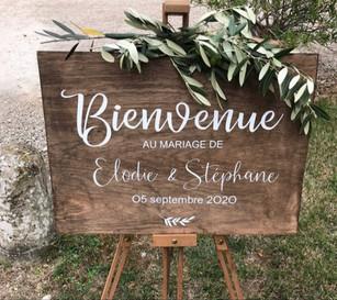 """STICKER """"PANNEAU DE BIENVENUE"""""""