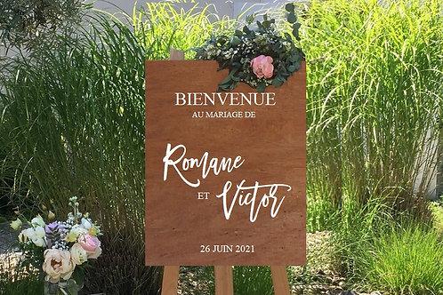 """Sticker """"Panneau de bienvenue R+V"""""""