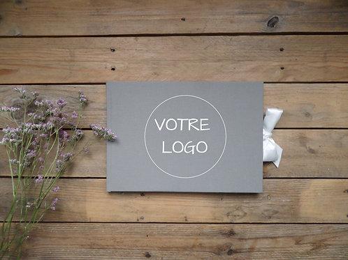 Livre d'or modèle avec votre logo