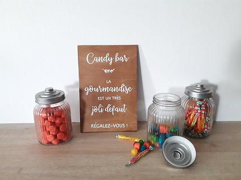 "Sticker ""Candy bar"""