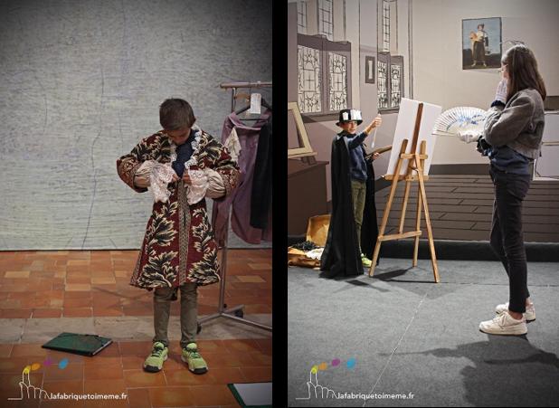 les petits apprentis de Goya exposition Agen