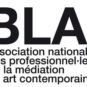 BLA! - Fédérer, partager, fortifier la médiation culturelle en art contemporain