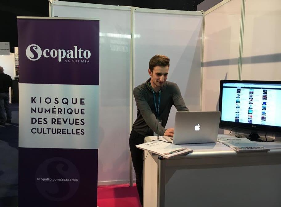 Scopalto présente son offre sur le salon CE