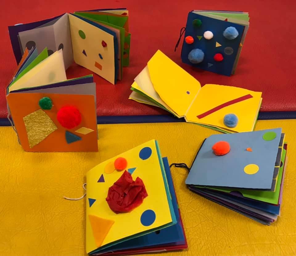 Atelier « Munari, je crée mon mini-livre »