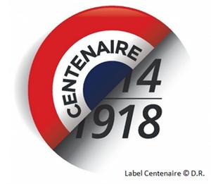 Label Centenaire 14-18