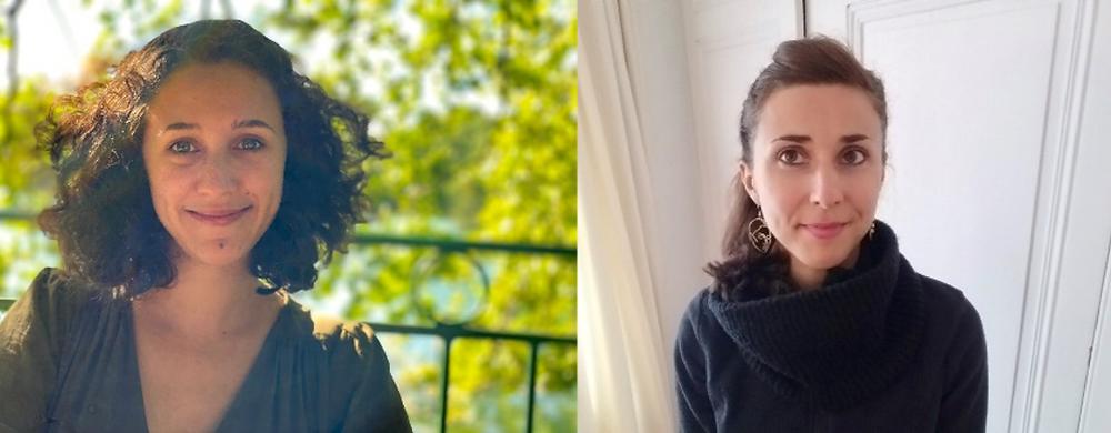 Carole-Hélina Jaquet et Sarah Rambaud