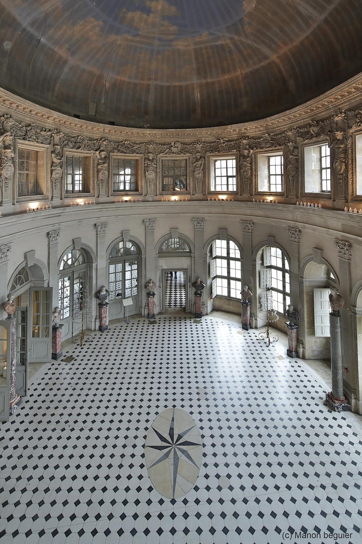 Grand salon coupole Vaux le Vicomte