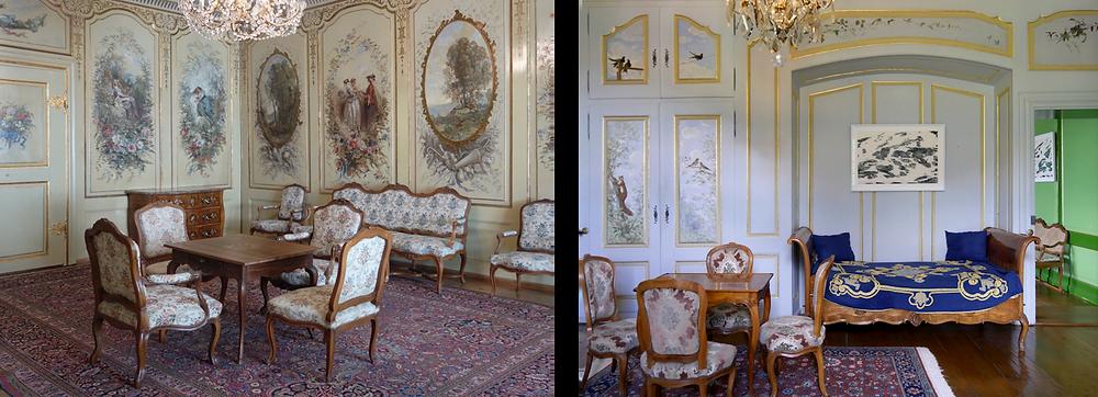 Château de Gruyères Salon Corot