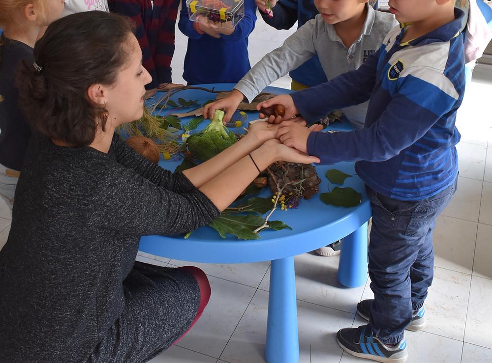 Atelier enfant - nature