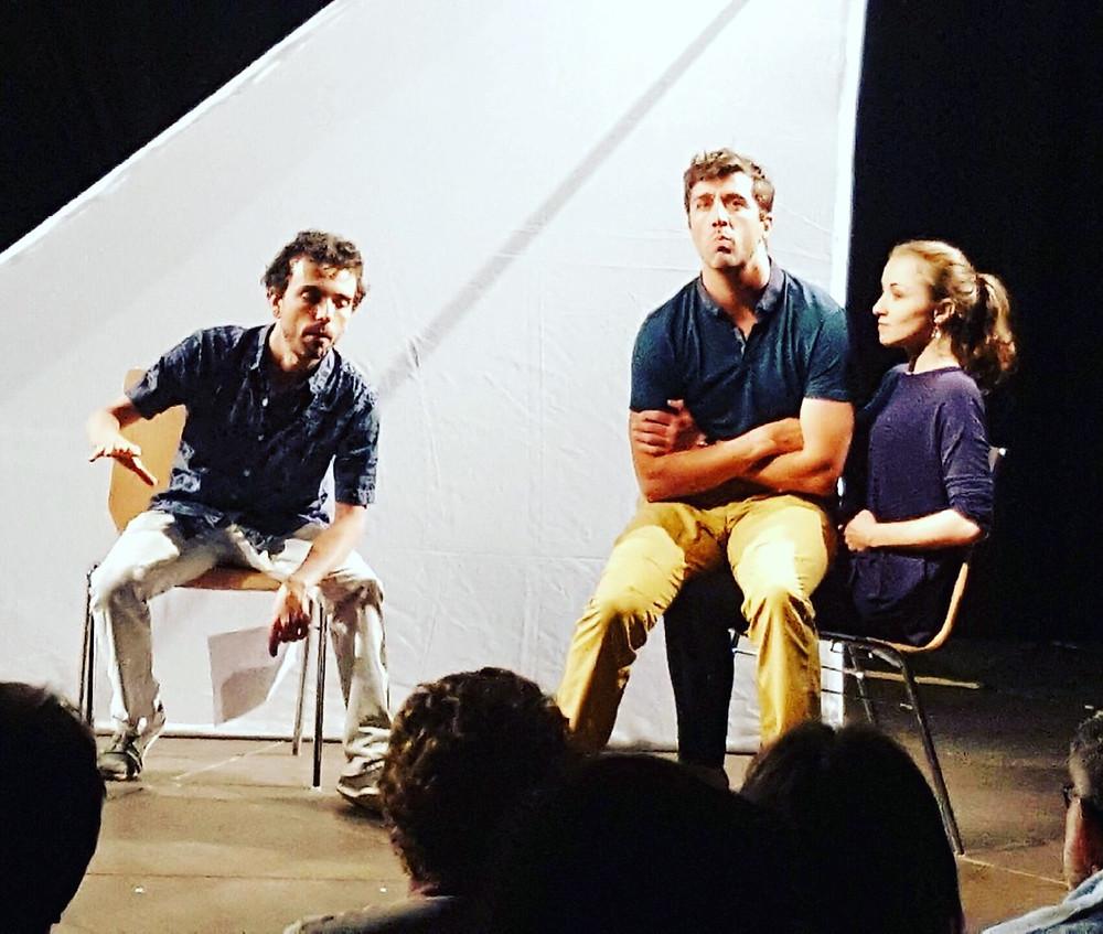Damien Luce en répétition