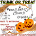 Trunk or Treat October 26, 2019