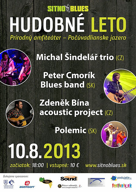 plakát Sitno Blues 2012