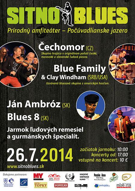 plakát Sitno Blues 2014
