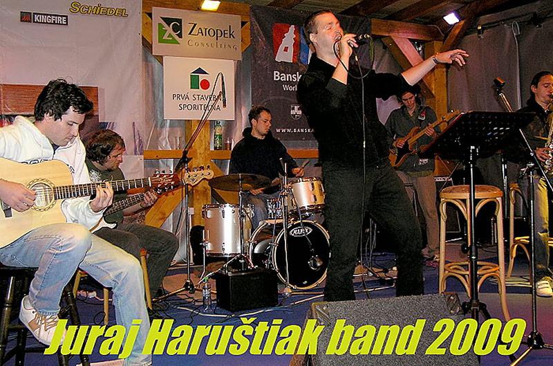 Juraj Haruštiak band