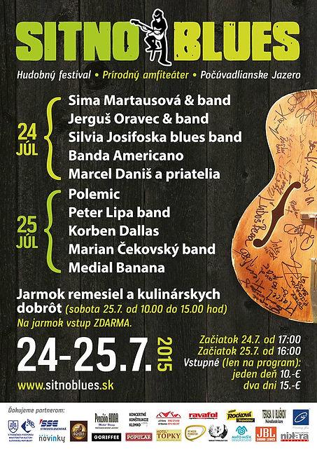 plakát Sitno Blues 2015