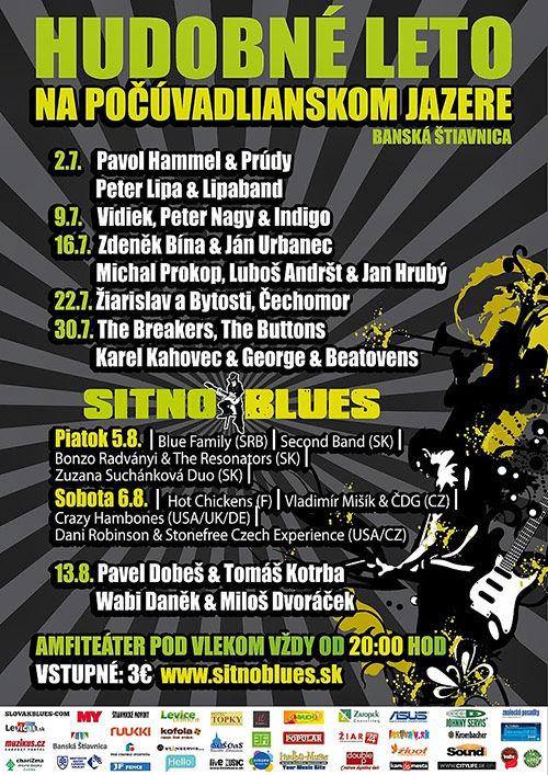 plakát Sitno Blues 2010